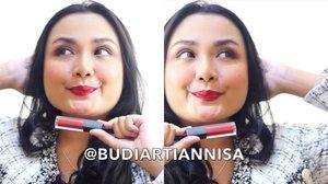 Setiap mau pergi bingung mau pakai Lipstick yang mana? sungguh dilematis wanita. Bantuin aku pilih dong  diantara 3 Shade Velour Lip @beautitarian ini..mana yang paling cocok buat aku? 💛Reddy To Go💛Somepink Special💛Nude AptitudeWalau sehari bisa ganti 3 warna lipsticks, tapi warna pertama yang dipakai di pagi hari itu paling penting 😘..Review Beautitarian Velour Lip udah up di Blog aku babes 💋..www.budiartiannisa.com (link on Bio)...#bloggerceriaxbeautitarian #velourlip #ichamaucerita #bloggerceriaid #bloggerceria @bloggerceriaid #clozetteid #tampilcantik #beautybloggers @indobeautygram  @cchannel_beauty_id @wakeupandmakeup #lipstickswatch
