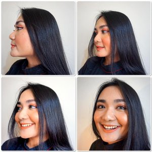 """""""When Beauty is a Power..a smile is its Sword"""" ..Holaaa Monday don't forget to give your best Smile 🤗🤗🤗. It's my Make Up look from My previous post☝🏻💋. Because our theme is a """"Bukber Look"""" I found my inspirations from a cup of fresh orange+carrots Juice 🍹. So this is the details:..Foundation: The Realest Lightweight @roseallday.co Loose Powder: @blpbeauty..Eye-Cheeks-Lips: Peach Soda @blpbeauty Eyeliner: @blpbeauty ..Mascara: BadGalBang @benefitindonesia Highlighters: Mochi @nyxcosmetics_indonesia Brow Mascara: @nyxcosmetics_indonesia Bronzer: @lakmemakeup Setting Spray: Flawless priming water @studiotropik ...@bloggermafia @beautybloggerindonesia @lookbookindonesia #beautyenthusiast #beautybloggerindonesia #makeupcollab #makeupoftheday #freshmakeuplook #bloggermafia #clozetteid"""