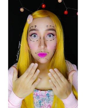 Barbie Challenge 👸 Video akan di upload nanti ya☺️  #makeup #makeupideas  #makeuplook  #makeupbarbie  #barbiegirl  #barbiedoll  #barbiechallenge  #beautyenthusiast  #clozetteid  #clozetter  #clozette  #clozettemakeup  #ragam_kecantikan  #ragamkecantikan  #beautycreations  #beautycommunity  #beautygram