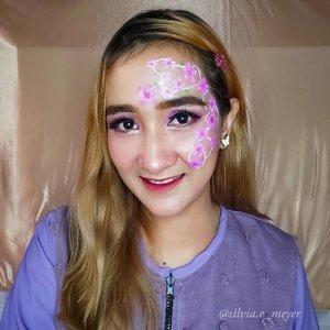Bunga-bunga dimana-mana 💐🌷🌸🌹🌺💜  Inspirasi dapet dari Google (lagi) 😁  #faceart #facepainting #faceartmakeup #facearts #makeup #makeupideas #makeuplook #makeupbyme #makeupfaceart #facepainting #facepaint #facepaintingmakeup #art #makeupsilviameyer #makeupinspiration #cchannelid #cchannelbeautyid #cchanelmakeupid #clozetter #clozette #clozetteid #beautyideas #beauty #beautytips #beautyvlogger #beautybloggers #beautyinfluencer #beautyeditorial #beautygram #tampilcantik #JakartaBeautyBlogger