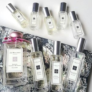 Oh, hello!! Spot your favorite? Or your least favorite?#clozettestar #clozetteid #jomalone #cologne