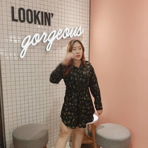 Me lookin' gorgeous because #ParkSaeroyi is looking at me.  Cant wait for this weeks's final episode of #ItaewonClass  ㅡ #clozetteid #abcommunity #daily #dailylook #itaewon #instagram #instagood #kbeauty #얼짱