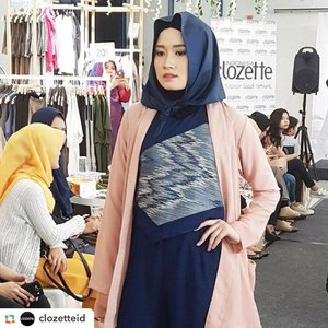 Repost from @clozetteid #ClozetteAmbassador Bonita look flawless on @havaid collection#ClozetteID #MuslimFashionStreet #ClozettexHAVAxWardah