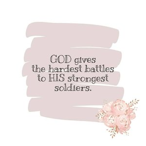 GOD gives the hardest battles to HIS strongest soldiers.GOOD Morning everybody! GOOD Morning universe!wake up and Fight!#clozetteID
