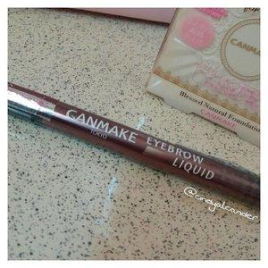 Eyebrow liquid from @canmaketokyo @canmakeid ------------------ 💌 alca.alca.belle@gmail.com ✏ alcaalcabelle.blogspot.com 💻 https://www.youtube.com/c/CindyAlcander1789 ------------------ #makeup #makeupoftheday #makeupenthusiast #makeupjunkie #makeupporn #makeupartist  #faceoftheday #makeuplook #beautyblogger #beautyvlogger #starclozetter #beautybloggerindonesia #clozetteID #alca_girl #alcaalcabelle.blogspot.com #오늘 #인스타그램 #스타그램 #셀카스타그램 #셀피스타그램 #셀카 #셀피 #뷰티 #뷰티스타그램 #뷰티블로거 #블로거 #2016년