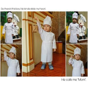 "So there's this boy. He kinda stole my heart. He calls me ""Mom""..#clozetteID #RyuOzoraHalim"
