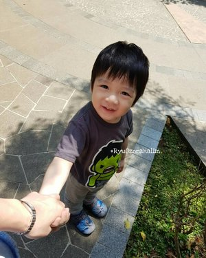 Grow Up so Fast 😘😘😘 My Baby Boy ❤❤❤ #RyuOzoraHalim  #clozetteID  #boy #kiddo #lovely #smile