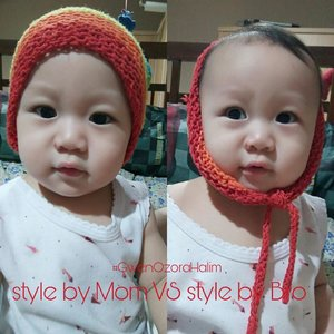 Which Team are you? #StylebyMomTeam or #StylebyBroTeam? 🌟🌟🌟 . my Cute little angel #GwenOzoraHalim , style by lovely Bro #RyuOzoraHalim ❤❤❤ . #clozetteID #babygirl #cutebabygirl #lovelybaby #instababy #kids