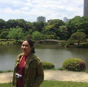 A garden that worths to visit twice 🌳🌿🍃 . . . #shinjukugyoen #shinjuku #wheninTokyo #wyntraveldiary #park #garden #travel #leisure #clozetteID