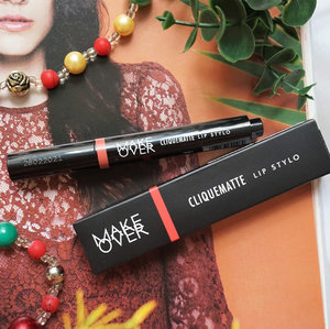 New post is UP on the blog! @makeoverid Cliquematte Lip Stylo in HOLLYWOOD, new kid on the block!_The clickpen concept brings the new sensation in applying your lipstick. Just click it!_Read the review here 👉🏼 bit.ly/MOcliquematte or link on bio 💄...#mrshidayahpost #mrshidayahreview #makeoverid #lipsonclick #mattelips #perfectpout #clickpenlipstick #lipstickaddict #clozetteid