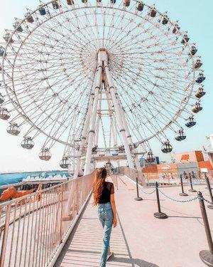 𝙇𝙞𝙛𝙚 𝙞𝙨 𝙡𝙞𝙠𝙚 𝙖 𝙛𝙚𝙧𝙧𝙞𝙨 𝙬𝙝𝙚𝙚𝙡, 𝙮𝙤𝙪 𝙝𝙖𝙫𝙚 𝙩𝙤 𝙜𝙚𝙩 𝙥𝙖𝙨𝙩 𝙮𝙤𝙪𝙧 𝙛𝙚𝙖𝙧 𝙩𝙤 𝙚𝙣𝙟𝙤𝙮 𝙩𝙝𝙚 𝙫𝙞𝙚𝙬. . . #taiwan🇹🇼 #travelphotography #travelgram #travelblogger #clozetteid #exploretaiwan #mitsuioutletpark #台中