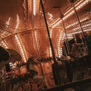 """Old but gold"" 一 Taken beautifully with @oppoSmart phone on night time.📷 : Oppo F1+.. #carousel #amusementpark #vsco #photography #clozetteid"