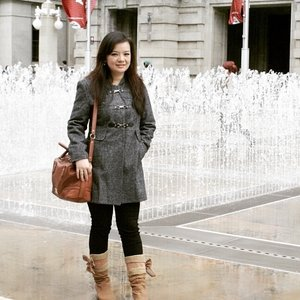 Winter outfit #ClozetteID #winterfashion #coat #boots
