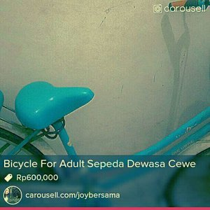 This is casual bicycle to get you anywhere.ìf you realy want buy. ♡ contact me 02199626227