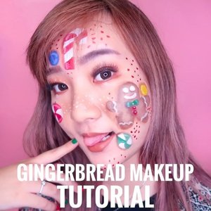 Gingerbread Man Makeup Tutorial because it's already that time of the year 💞🎄#beautybyvilly.#christmasmakeup #gingerbreadmakeup #amazingmakeupart #illusionmakeup #sfxmakeup #sfxmuaindonesia #sfxindonesia #sfxmakeupindo #facepaintingindonesia #artmakeup #crazymakeups #undiscovered_muas #indobeautysquad #beautybloggerindonesia #indobeautygram #jakartabeautyblogger #indobeautyblogger #100daysofmakeupchallenge #clozetteid #cchannelbeautyid #tampilcantik #ragamkecantikan #3dmakeup #makeuptutorial #tutorialmakeup #makeupvideo