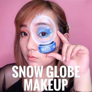 Snow Globe Makeup Tutorial ! ❄️🥳Inspo : @sarinanexie ⛄️Deets :@nyxcosmetics_indonesia Ultimate Edit Palette@nyxcosmetics_indonesia Jumbo Eye Pencil - Milm@mehronmakeup Paraduse Makeup AQ Palette#beautybyvilly.#snowglobemakeup #snowmakeup #frozenmakeup #christmasmakeup #sfxmuaindonesia #illusionmakeup #sfxindonesia #sfxmakeupindo #halloweenindonesia #facepaintingindonesia #artmakeup #3dmakeup #crazymakeup #crazymakeups #undiscovered_muas  #amazingmakeupart #indobeautysquad #beautybloggerindonesia #indobeautygram #jakartabeautyblogger #100daysofmakeupchallenge #cchannelbeautyid #clozetteid #makeuptutorial #tutorialmakeup #makeupvideo