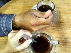 We time. Minum kopi!#clozetteid