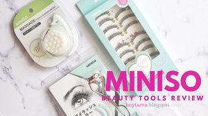 Hey There!: Miniso Beauty Tools Review : Murah-murah dan Gemesin