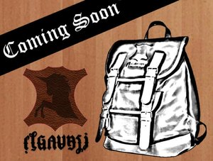 sketch bagpack from lather is commin soon