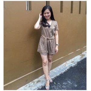 """ The secret of great style is to feel good in what you wear "" - Inès de la Fressange . . . . . . . . . . . #ootd #ootdfashion #ootdinspo #ootdid #fashion #ootdindonesia #ootdindo #clozetteid #pincstyle #potd #likes #instagood #instafashion #jumpsuit #lookbook #lookbookindo #potdindo #ootdid #womensfashion #outfits #outfitinspo #likeforlikes #likeforfollow #outfitoftheday #tapfordetails"