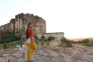 India 💖💖💖 Jaipur outside the fort #travel #clozzeteid