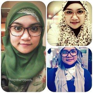 Banci kacamata, nyobain berbagai tutorial hijab, dengan nama blog yang alay.....yeeeaaa. #untiltomorrow #untiltomorrowchallenge #clozetteid