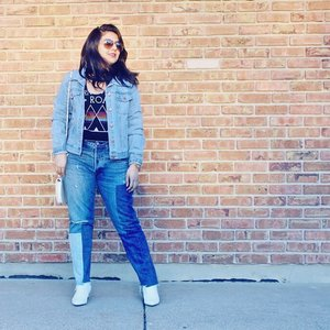 This look is now up on the blog! It has been pending for quite sometime. Between moving in and getting started with classes, it has all been so hectic.  Click the link on my bio to check it out! Double Denim makes a great statement outfit! #newpost #ontheblog #denimx2 . . . . . . #ootd #photooftheday #fashionblogger #igers #instadaily #mumbai #indian #jakarta #love #blogger #clozetteid #instafashion #igfashion #fashiongram #whatiwore #streetstyleindia #bloggersuperlooks #stylecollective #like4like #sydney