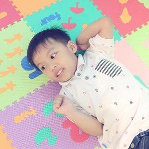 . My 💕 #destonmarvelle #sonshine . #mommyloveyou #iloveyou #happiness #blessed #cuteboy #smartboy #mommyblogger #mommyslife #clozetteid #family #familytime