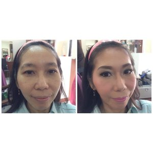 . Thank you Mrs. Linda for trusting me 🙏 . #mua #makeupbyanitamayaa #makeup #makeupartist #makeupaddict #makeupjunkie #ilovemyjob #workingmom #mommyblogger #bloggerslife #bblogger #clozetteid #bestoftheday #potd