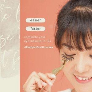 First time nyobain eyelash applicator tools yg baru dari @loreca.lashes . Pakai bulu mata jadi lebih gampang karena ujung applicatornya sesuai bentuk lengkungan mata jadi tinggal tempel terus rapiin bagian ujung2nya.. Ga sampe semenit udah beres pakai bulu mata palsu 💕 . #WearLoreca #LorecaBabes #Loreca #anitamayaadotcom #bloggerslife #beauty #skincare #makeup #lifestyle #sociollabloggernetwork #indobeautysquad #ClozetteID #JakartaBeautyBlogger