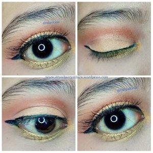 29. Carribean Crush Dear @beautycollabgram hari ke 29 ini temanya Caribbean Crush, hmm langsung ke yang seger ya mikirnya, ada potongan apel, nanas, kelapa,pepaya buah tropis yang di mix dalam 1minuman, yang warnanya jadi oranye, peach, pink muda, kuning muda,nah itu yang jadi inspirasi eye look aku 😘 . Det Eyeshadow @inezcosmetics seri Athena . #30dayschallengexbeautycollabgram #inezcosmetics #clozetteid