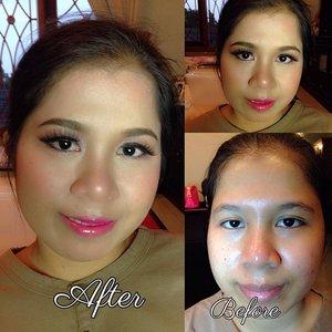 Done.. Makeupin Eni yang mau tunangan malem Ini #clozetteid #beauty #makeup #makeupbyme #motd #engagement #TagsForLikes #naked3 #anasthasiabeverlyhills #makeover #liptarte mix #borjous