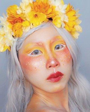 #throwback to where I wanna be Nature's Fairy Nymphs 🧚♂️ #ladies_journal #beauty #makeup #mua #clozetteid #clozette #fairy #motd