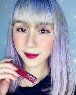 Wearing @kubybeauty Matte Love Liquid Lipstick, shade Bite Me ❤️ #ladies_journal #clozette #clozetteid #makeup #beauty #makeupaddict #makeupaddiction #makeupjunkie #motd