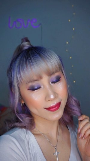 Matchy matchy with my hair. Using products from @artistrystudioofficial Bangkok Edition. Thank you @amway.sg  What do you think?  #ladies_journal #artistrystudioofficial #passionista  #grwm #makeup #makeuptutorial #undiscoveredmuas #beauty #clozette #clozetteid #motd