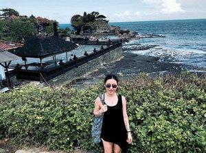 Everyday is holiday in Bali 😉 . . . #ladies_journal #clozette #clozetteid #tanahlot #bali #beach #indonesia #instamood #instatraveling #instasky #instapassport #holiday #travel #asian #asiangirl