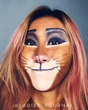 #throwback to my #simba #lionking makeup 🦁  #ladies_journal #disney #makeup #beauty #facepainting #facepaint #makeupartist #makeuptransformation #makeupjunkie #clozette #clozetteid #sfxmakeup #sfx