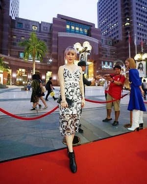 Attending #MyJapaneseBeauty Pop-up Store with a pretty dress from @_ohyoufancy_ 😊 that located at along orchard road, outside Ngee Ann City. 📸 : @lkzx  #ladies_journal #ootd #lookbook #fashion #clozette #clozetteid #myjapanesebeautysg #elegant #redcarpet #beauty