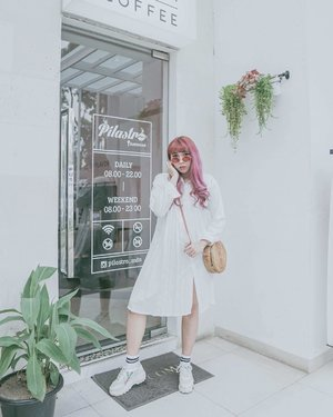 White on white. Dress: @ylkacollection . . . . . . #clozetteID #clozette #ootd #ggrep #ggrepstyle #ggreptrend #cidstreetstyle #looksootd #lookbook #cgstreetstyle #medanbeautygram #outfitoftheday #outfit