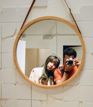 #selfieonfilm #35mm.....#clozette #clozetteid #canonftql #kodakgold200 #filmcamera #portrait #filmisnotdead