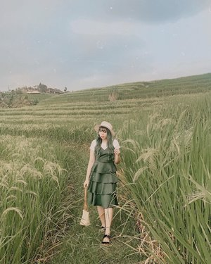 Blending in 🌱🌿🌾 . . 📍 Jatiluwih Rice Terrace . . . . #clozette #clozetteid #bali #thebalibible #balibible #travel #jatiluwih #jatiluwihriceterrace #riceterrace #ricefieldsbali