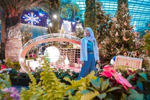 Sunday 💙 . . . . . #DiariTravelJourney #DiariJourney #ClozetteID #gardensbythebay #gardensbythebaysingapore #gardenbythebay #gardenbythebaysingapore #travelingsingapore #hijabtraveler #hijabtraveller #travelblogger #bloggerindonesia