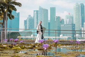 Jembatan penghubung antara Marina Bay Sands Mall dan Art Science Museum ini jadi tambah instagramable dengan kolam teratai di sekelilingnya. 🌺 . Tips kalau mau ke sini usahakan pagi hari, biar ga terlalu rame, dan ga panas juga. 😊  How to get there? Naik MRT turun di Bayfront. Ikuti petunjuk ke Marina Bay sands mall. Ikuti petunjuk lagi ke Art Science Museum. . . . . . . #ClozetteID #artsciencemuseumsingapore #marinabaysands #marinabaysandssingapore #artsciencemuseum #singaporeguidebook #singapore #hijabtraveler #hijabtraveller #DiariTravelJourney #DiariJourney #singaporeinsiders #exploresingapore #thingstodoinsingapore #wisatasingapore #travelblogger #lifestyleblogger