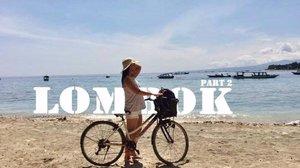 @ariefmuhammad inspired 😊 but then pas ke utube, banyak juga yang kayak gitu 🤣 ketinggalan guehh😋  Lombok video part 2 is up on the link 😁🏊🏼🏖🏝 #youtube #jennylamtio #indonesia #lombok #gilitrawangan #gilivlog #beach #clozetteid #sociolla #sociollabloggers #vlog #lombokvlog #gilivlog