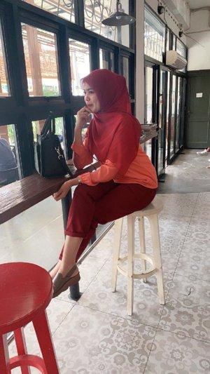 rednred #hijabootd #hijabstyle #ootd