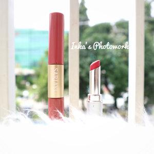 My current fave local lipstick : Sari Ayu Duo Lipcolor no 7 and Wardah Intense Matte Retro Red 😊 #clozetteid #clozettemobileapp