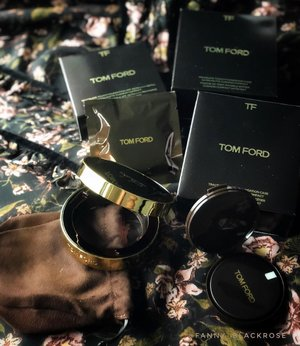 No caption needed for @tomfordbeauty  You know I am #TomFordAddict . . . #tomford #tomfordbeauty #tomfordlifestyle #tomfordcushion #beautygram #rose #rosegold #wakeupandmakeup #makeuppost #luxurybeauty #makeuptalk #clozette #clozetteid #beautyblogger #beautyblog #beautyinfluencer #makeupcollector #makeupaddict