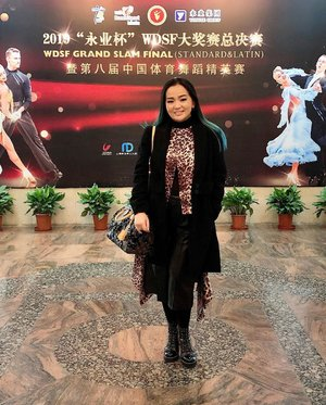First Day of #WDSF #GrandSlam #ShangHai • • •  Thank you @voravaj_official ♥️ • • • #winterstyle #shanghai #workingmom #workingmomlifestyle #dance #dancerforlife #dancer #dancelife #workingmomlife #clozette #clozetteid #lovemylife #thankful #grateful #blessed #momentinlife #happyisdecision #livingmybestlife #survivor #idontplaniplay