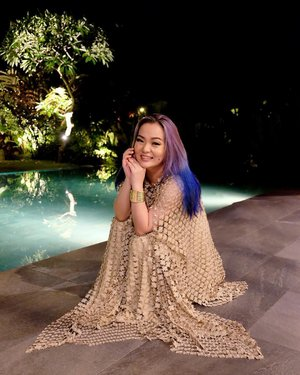 When flower doesn't bloom, you fix the environment in which it grows. . . . #throwback #aboutlastnight #bali #balilife #beautygram #midgealinegothitched #bramantawijaya #manicpanic #bluehair #purplehair #lookbooklookbook #lookbookindonesia #mylook #mylookbook #gown #livingmydream #livingfab #clozette #clozetteid #baliindonesia #threecosmeticsmy #threeflawlessbase #threeflawlessbabe #gypsysoul #idontplaniplay #onefineday