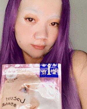 Taking care of my skin with  • Clear Turn BABYISH Mask • I give my thought and how I use of these sheet mask on my blog.  Link on my bio ☝️☝️☝️ • Thank you  @clozetteid  @kosecosmeportid • • • #MaskeranPakaiClearTurn #mask #sheetmask #clozetteambassador #clozetteidreview #skincarelover #skincareaddict #skincareroutine #skincareindonesia #skincaretips #skincareproducts #beautyblogger #beautyaddict #makeupartist #beutylover #SuncutBeraniMatahari #EsokBersamaKose #blackroseartproject #KoseCosmeportid #ClozetteID
